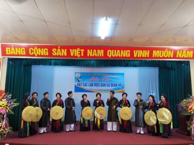 Lan tỏa giá trị văn hóa truyền thống của dân ca quan họ Bắc Ninh
