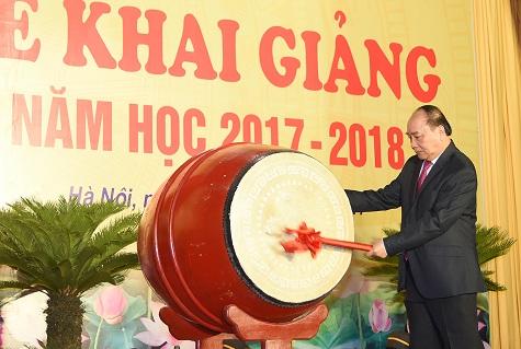 Thủ tướng Nguyễn Xuân Phúc dự khai giảng tại Học viện Hành chính Quốc gia