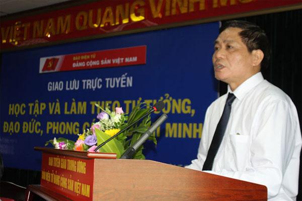 """Giao lưu trực tuyến chủ đề """"Học tập và làm theo tư tưởng, đạo đức, phong cách Hồ Chí Minh"""""""