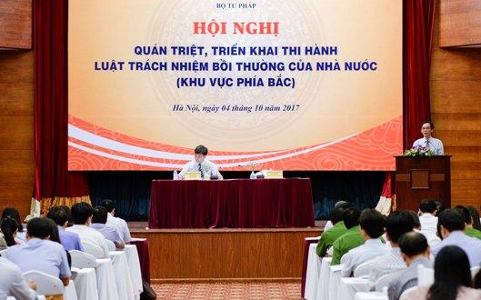Quán triệt, triển khai thi hành Luật Trách nhiệm bồi thường của Nhà nước