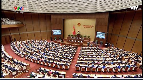 Khai mạc trọng thể Kỳ họp thứ 4 Quốc hội khóa XIV