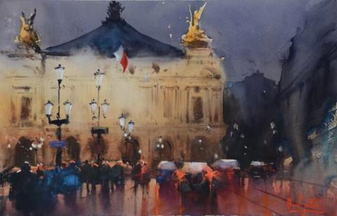 Triển lãm màu nước quốc tế lần thứ 2 tại Việt Nam