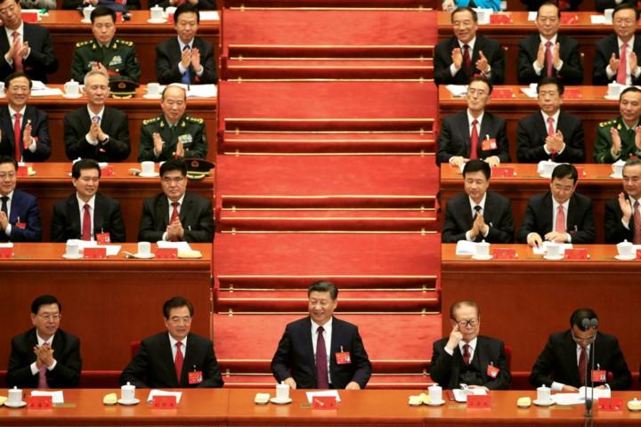 Đại hội XIX ĐCS Trung Quốc: Đoàn Chủ tịch Đại hội tổ chức Hội nghị lần thứ 3 và lần thứ 4 thông qua Dự thảo danh sách bầu cử