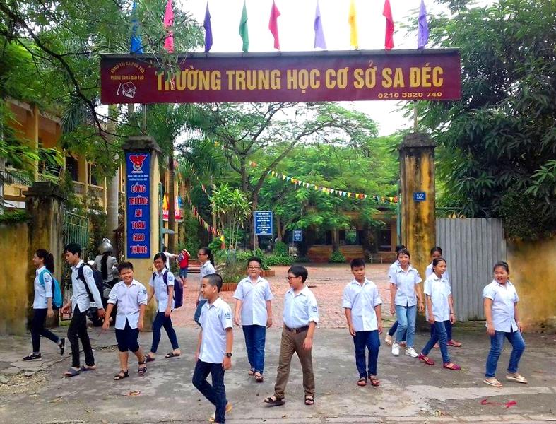 Trường THCS Sa Đéc: Phát huy truyền thống 60 năm xây dựng và trưởng thành