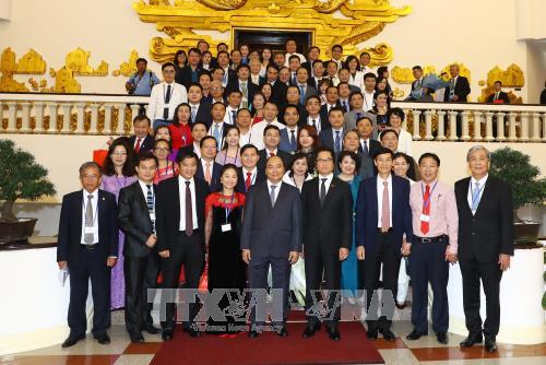 Thủ tướng Nguyễn Xuân Phúc: Chính phủ sẽ tiếp tục tôn vinh, bảo vệ doanh nghiệp