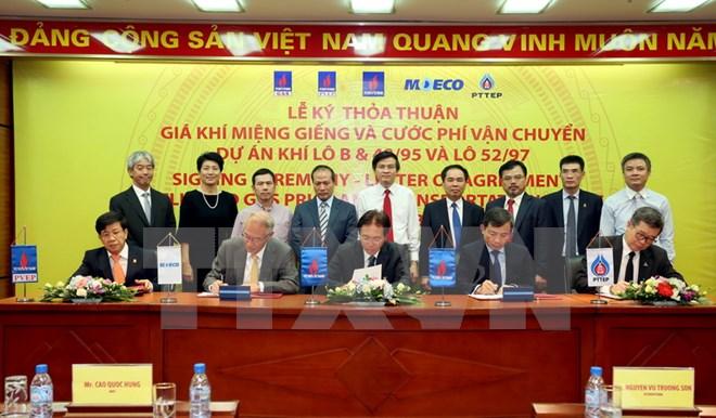 Hoàn tất thoả thuận và hợp đồng phát triển dự án mỏ khí Phong Lan Dại