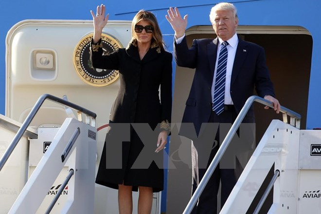 Tổng thống Mỹ Donald Trump thăm Hà Nội sau khi dự Hội nghị cấp cao APEC