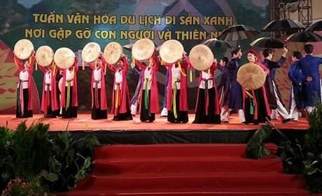 Tuần Văn hóa Du lịch Di sản xanh lần thứ 2 tại Hà Nội