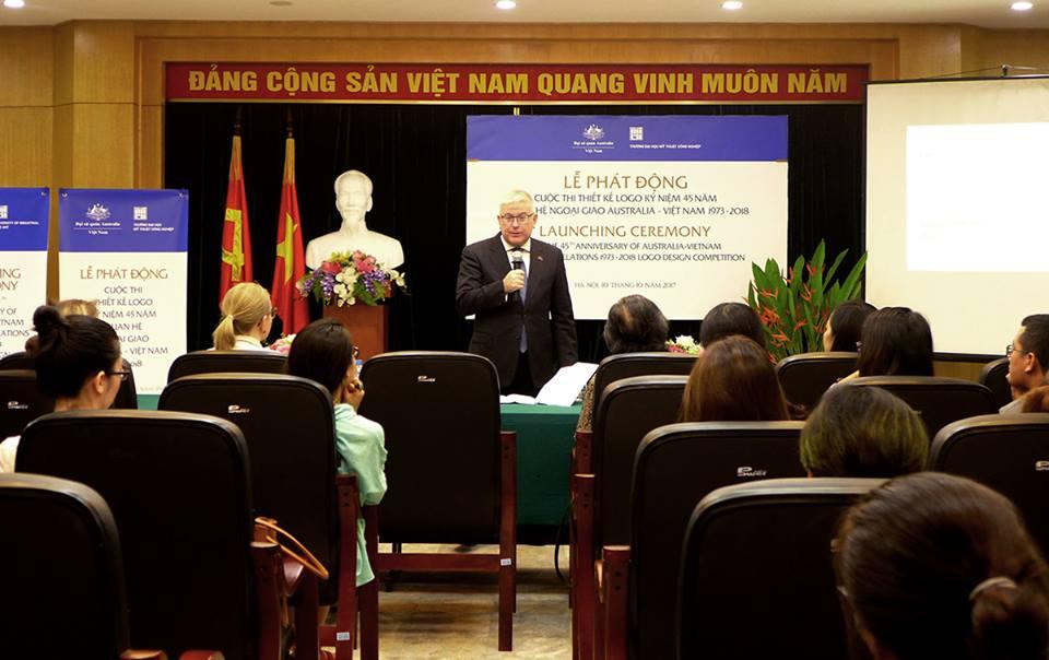 Thi Thiết kế Logo nhân kỷ niệm 45 năm ngày thiết lập quan hệ ngoại giao giữa Australia và Việt Nam