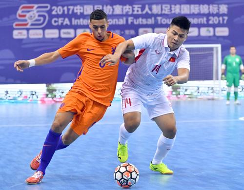 Đội tuyển futsal Việt Nam giành hạng ba Giải quốc tế CAF - 2017