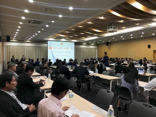 Hội nghị giao thương kết nối cung - cầu giữa Việt Nam - Hàn Quốc
