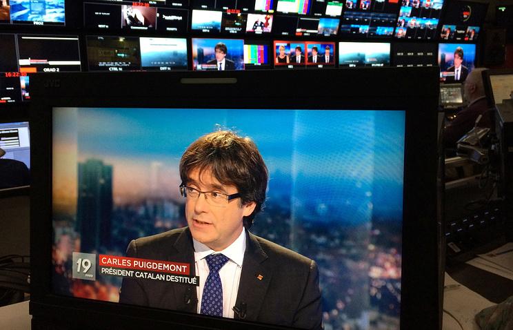Thẩm phán Bỉ phóng thích cựu Thủ hiến vùng Catalan