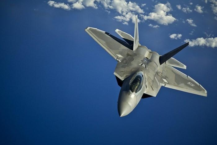 Mỹ điều máy bay tiêm kích F-22 tham gia tập trận với Hàn Quốc