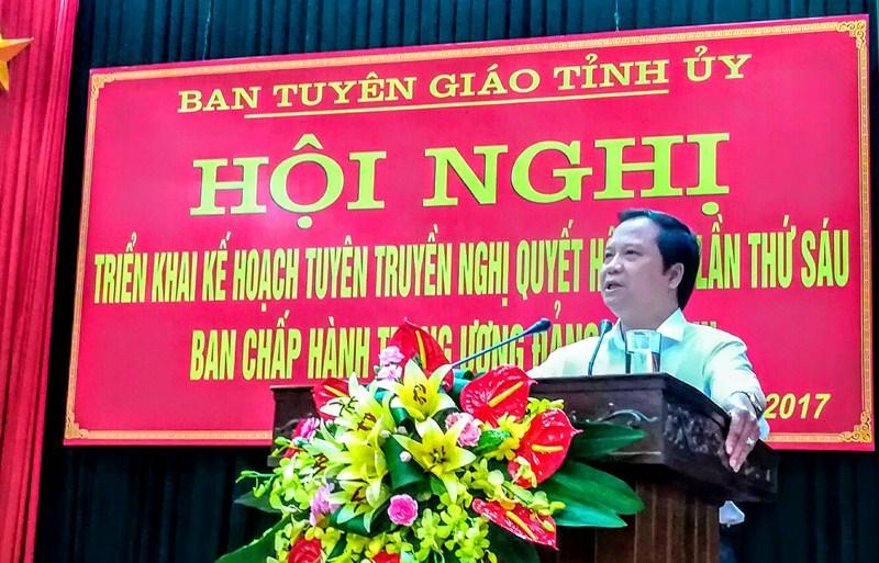 Thái Nguyên đẩy mạnh tuyên truyền thực hiện Nghị quyết Trung ương 6 khóa XII