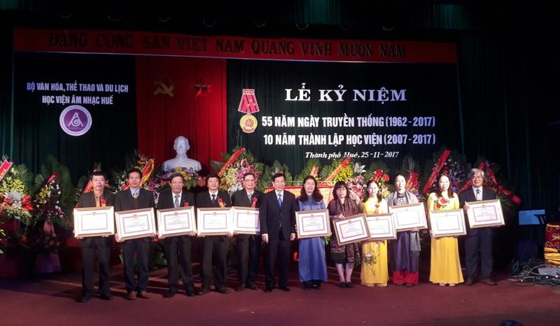 Kỷ niệm 55 năm ngày truyền thống và 10 năm thành lập Học viện Âm nhạc Huế
