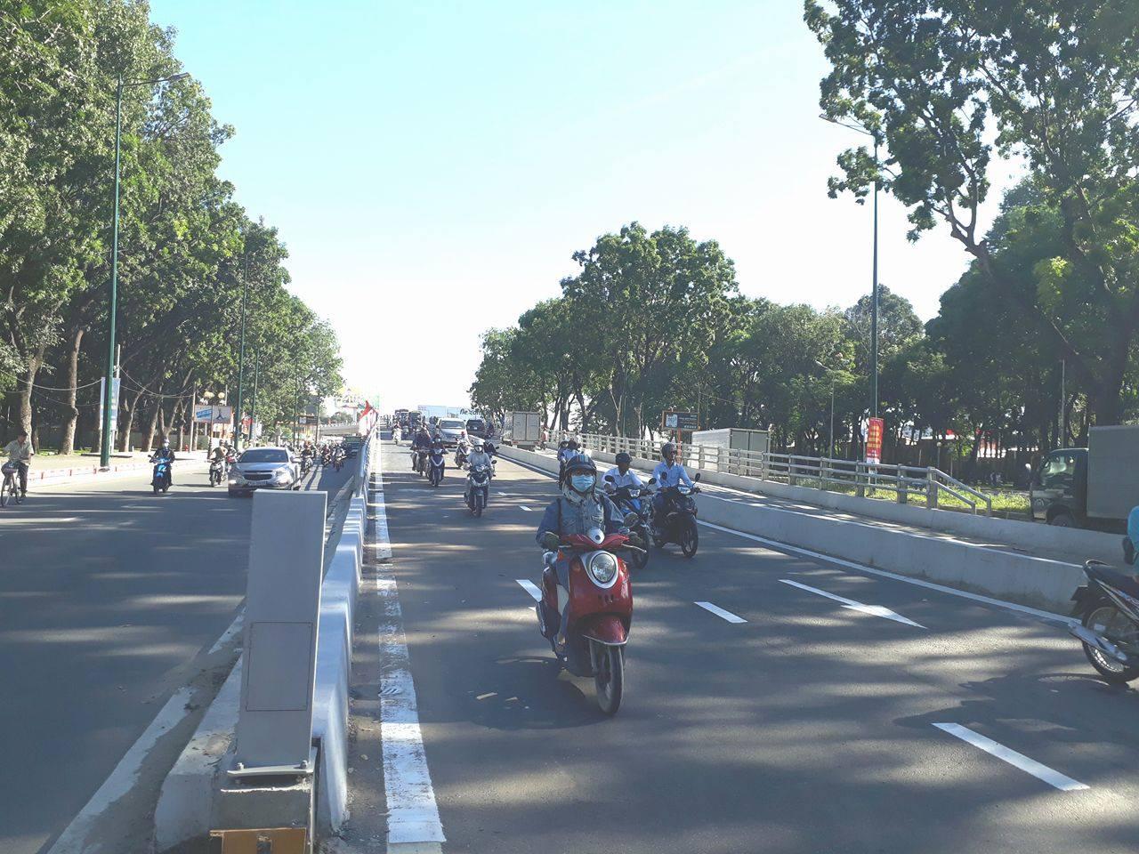 TP Hồ Chí Minh: Thông xe nhánh cầu Nguyễn Kiệm - Hoàng Minh Giám