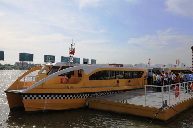 Tp. Hồ Chí Minh: Chính thức vận hành tuyến buýt sông đầu tiên