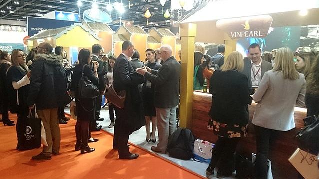 Việt Nam tham gia Hội chợ du lịch quốc tế tại Anh