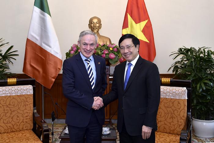 Thúc đẩy quan hệ hợp tác Việt Nam - Ai-len