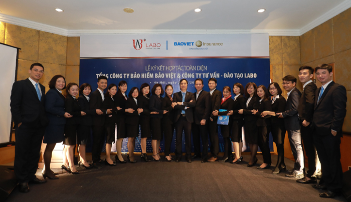 Lễ ký kết hợp tác giữa Bảo hiểm Bảo Việt và LABO