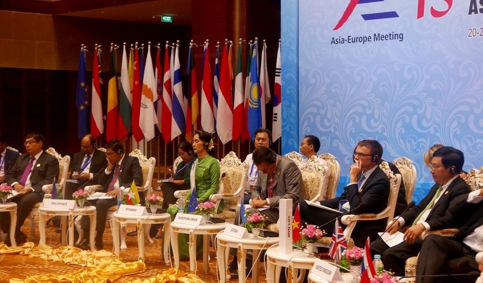 ASEM 13: Quyết tâm tăng cường quan hệ đối tác Á - Âu vì hòa bình và phát triển bền vững