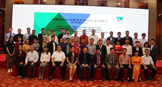 Việt Nam -Trung Quốc tăng cường hợp tác chống buôn bán động vật hoang dã