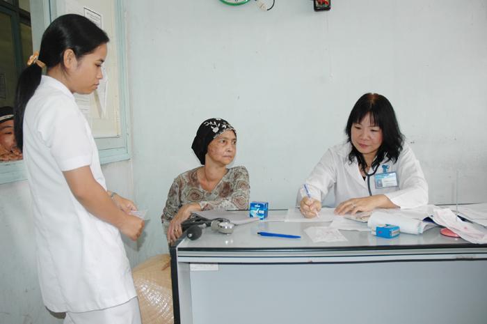 Tăng cường công tác phòng chống dịch bệnh ứng phó với mưa lũ sau áp thấp nhiệt đới