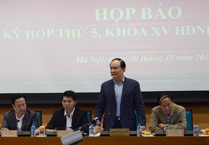 Ngày 6/12, HĐND TP Hà Nội sẽ chất vấn những vấn đề cử tri quan tâm