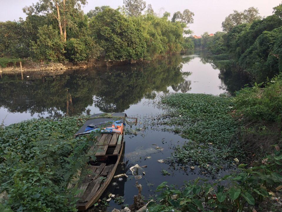 """Mỹ Hào (Hưng Yên): Người dân """"kêu cứu"""" vì ô nhiễm tại khu vực sông Cầu Lường"""