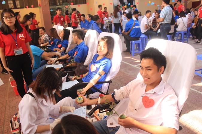 Triển khai hiến máu tình nguyện ngành y tế Hà Nội đợt II năm 2017