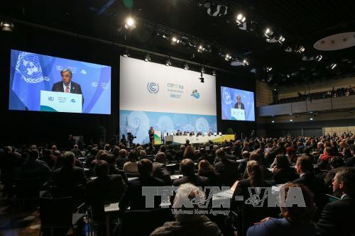 Biến đổi khí hậu: COP 23 nhất trí duy trì cam kết với Hiệp định Paris