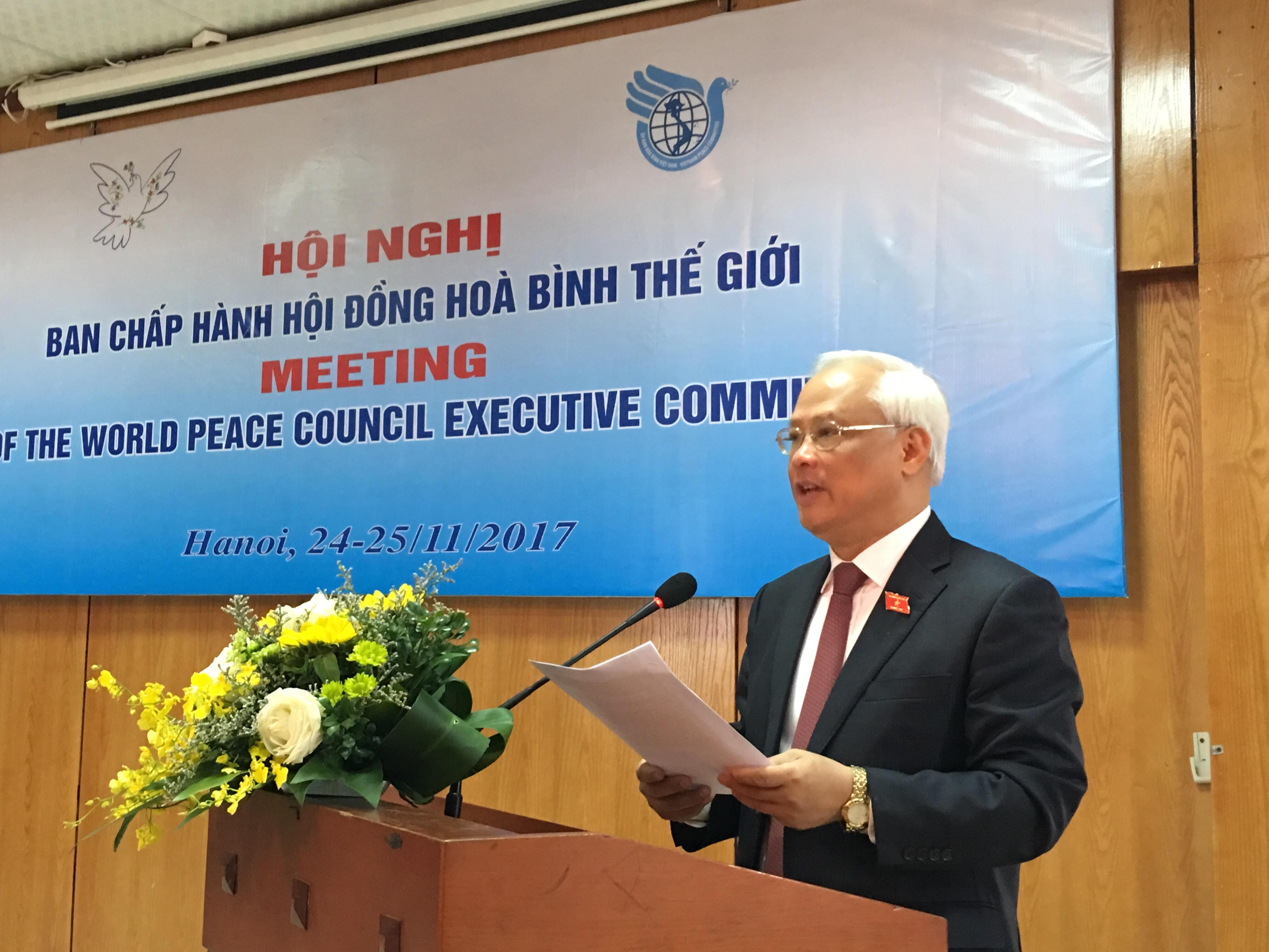 Hội nghị Ban Chấp hành Hội đồng Hòa bình thế giới tại Việt Nam