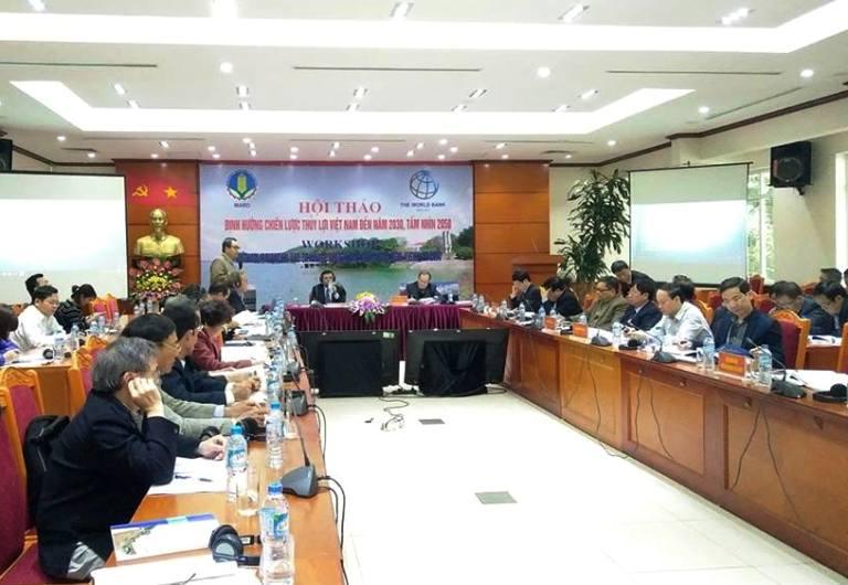 Phát triển ngành thủy lợi bền vững, vận hành theo cơ chế thị trường