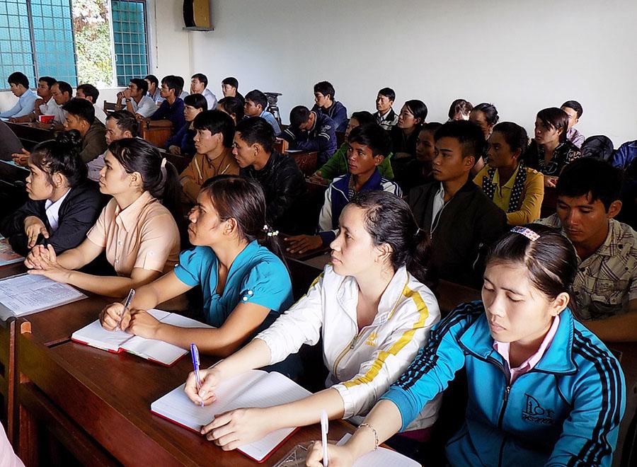 Gia Lai: Nâng cao năng lực cộng đồng theo Chương trình 135