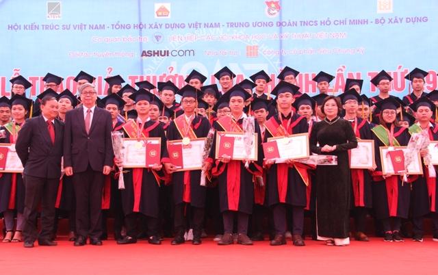 Trao giải thưởng Loa Thành cho 48 đồ án xuất sắc
