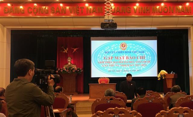 516 đại biểu dự Đại hội lần thứ VI Hội Cựu chiến binh Việt Nam