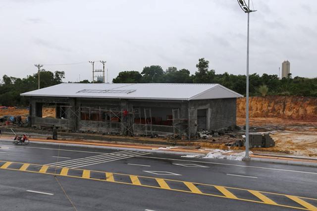 Quảng Ninh: hoàn thành xây dựng khu nhà tạm liên ngành cầu Bắc Luân II
