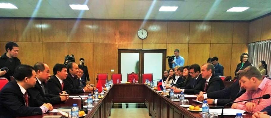 Tăng cường quan hệ hữu nghị, hợp tác giữa Việt Nam và tỉnh Irkutsk (Liên bang Nga)
