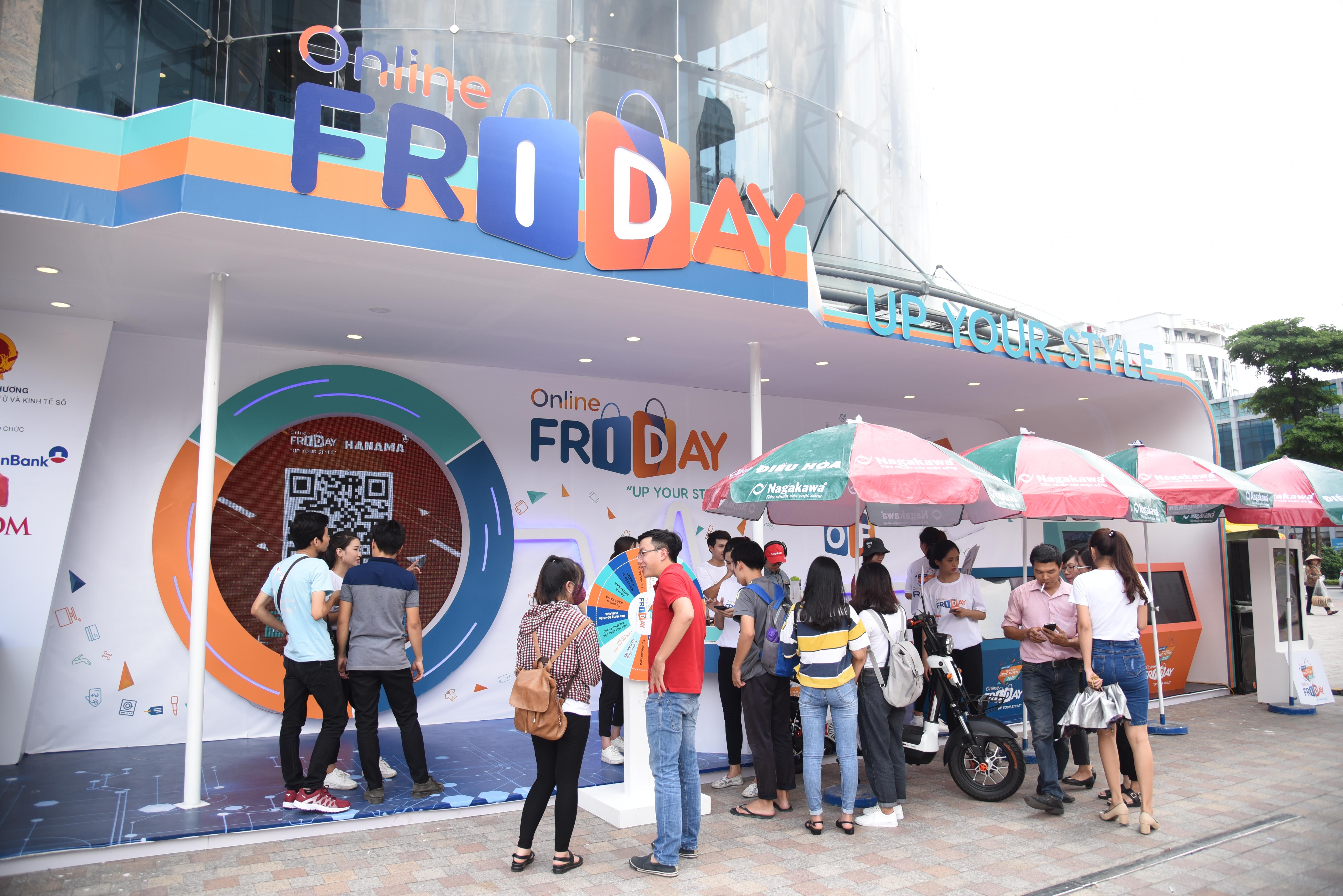 Nhiều sự kiện mua sắm bùng nổ tại Online Friday 2017