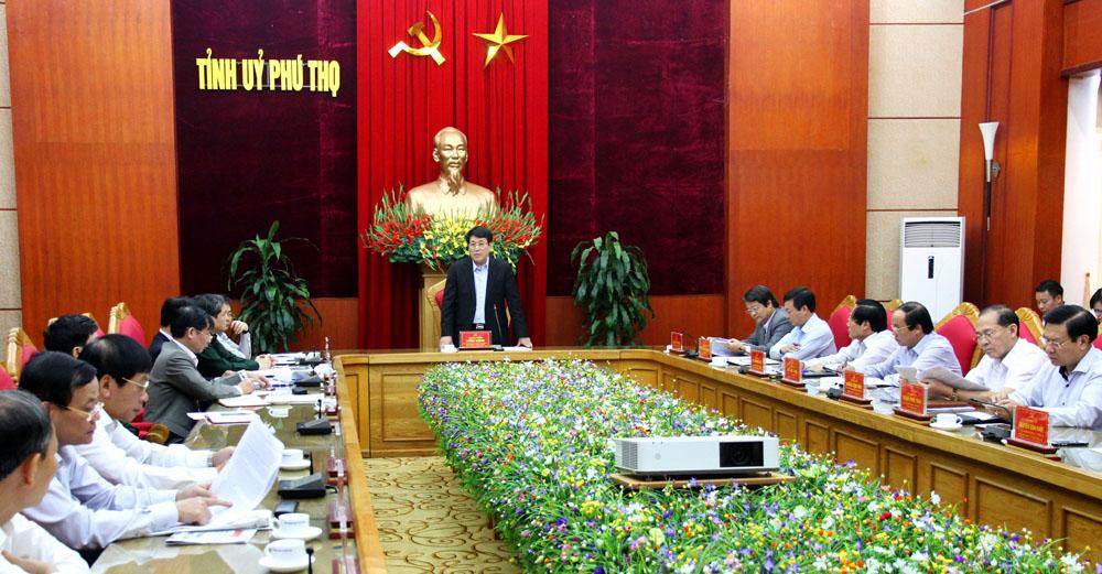 Phú Thọ: Tiếp tục đẩy mạnh thực hiện Nghị quyết Trung ương 4 (khóa XII) gắn với Chỉ thị 05