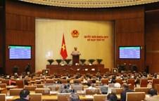 Thông cáo số 23 kỳ họp thứ 4, Quốc hội khóa XIV