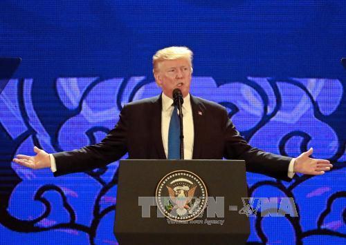 Tổng thống Mỹ Donald Trump với cách tiếp cận mới về châu Á
