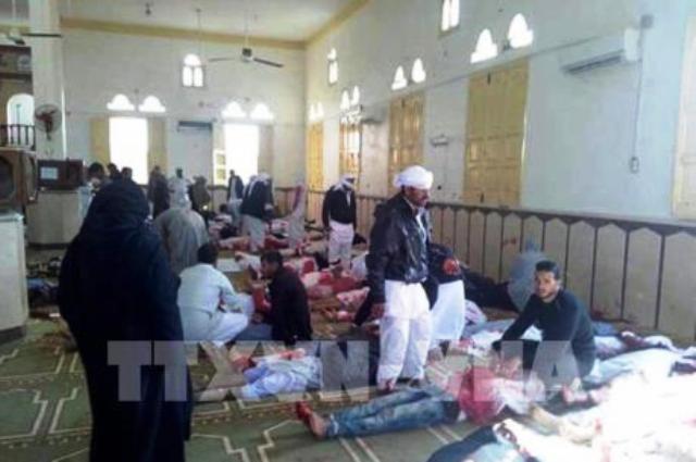 Vụ tấn công đền thờ Hồi giáo Ai Cập: Số người thiệt mạng tăng mạnh