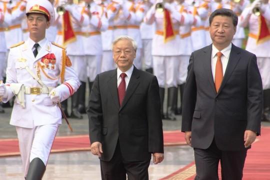 Việt Nam nhất quán coi trọng phát triển quan hệ ổn định, lâu dài với Trung Quốc