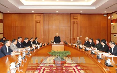 Tổng Bí thư Nguyễn Phú Trọng chủ trì họp Thường trực Ban Chỉ đạo Trung ương về phòng, chống tham nhũng