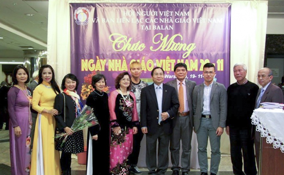 Kỷ niệm Ngày Nhà giáo Việt Nam tại Ba Lan