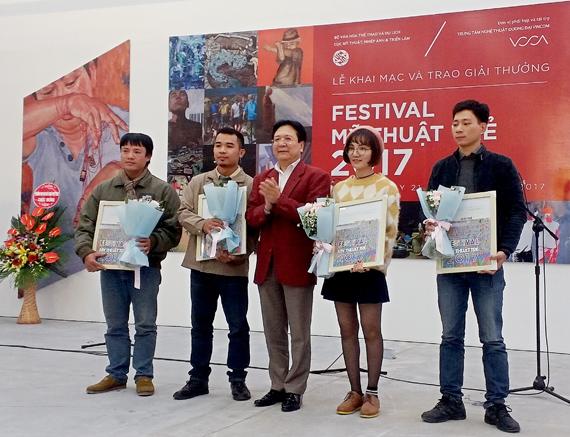 Festival Mỹ thuật trẻ 2017 - Tư duy sáng tạo, góc nhìn mới
