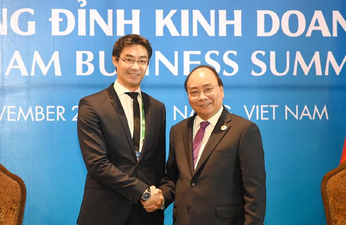 Thủ tướng tiếp Giám đốc Điều hành WEF và Phó Chủ tịch WB khu vực Đông Á và Thái Bình Dương