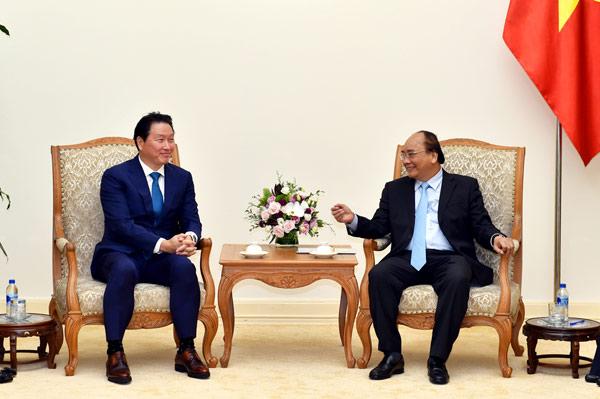 Tập đoàn SK Group mong muốn mở rộng sản xuất, đầu tư tại Việt Nam