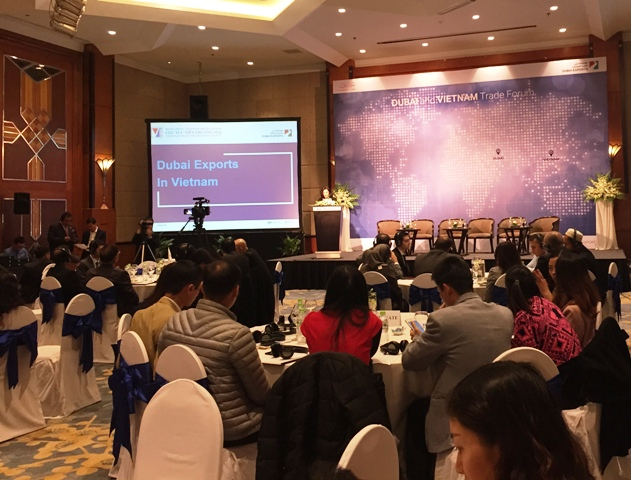 Tăng cường hợp tác giữa doanh nghiệp Việt Nam và UAE